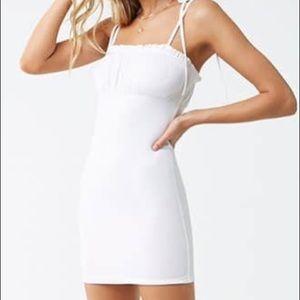 Ruffled Cami Mini Dress